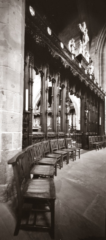 Cathedral chairs by pinhole