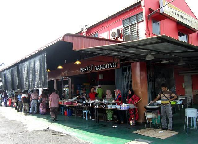 Mak Met's stall @ Bandong