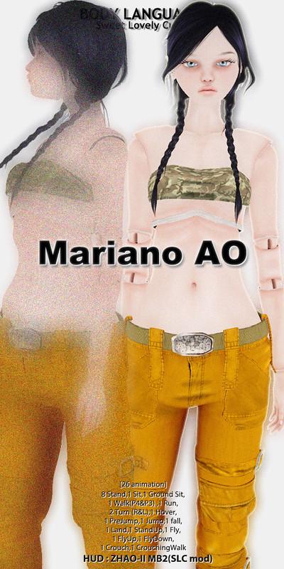Mariano AO set