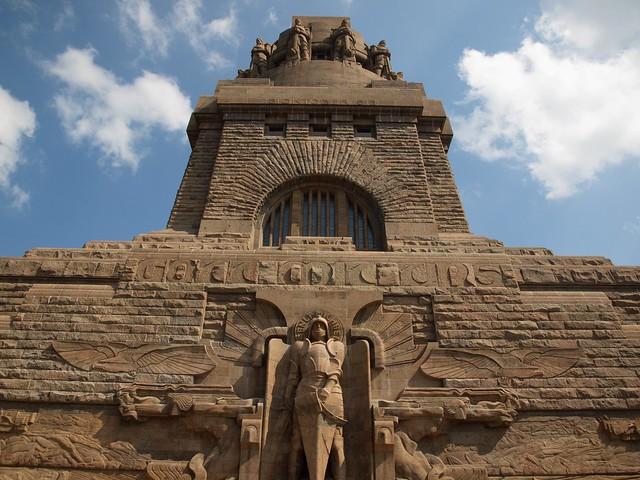 Völkerschlachtdenkmal: El Monumento a la Batalla de las Naciones. Leipzig. Alemania.