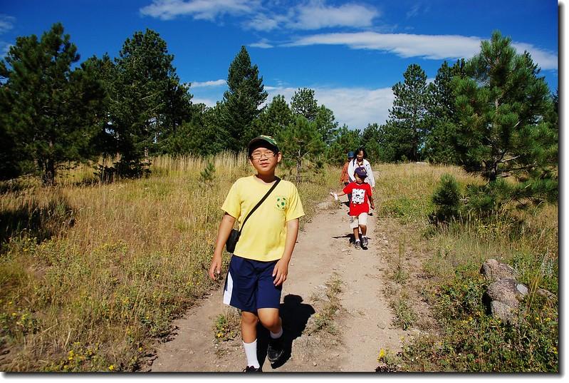 Green Mountain West Ridge Trail 2