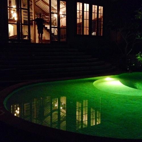 Night swim #ubud