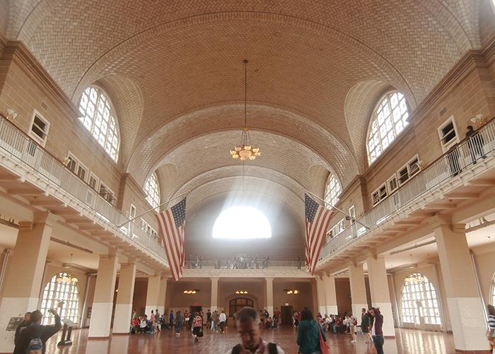 NYC Ellis Island museum