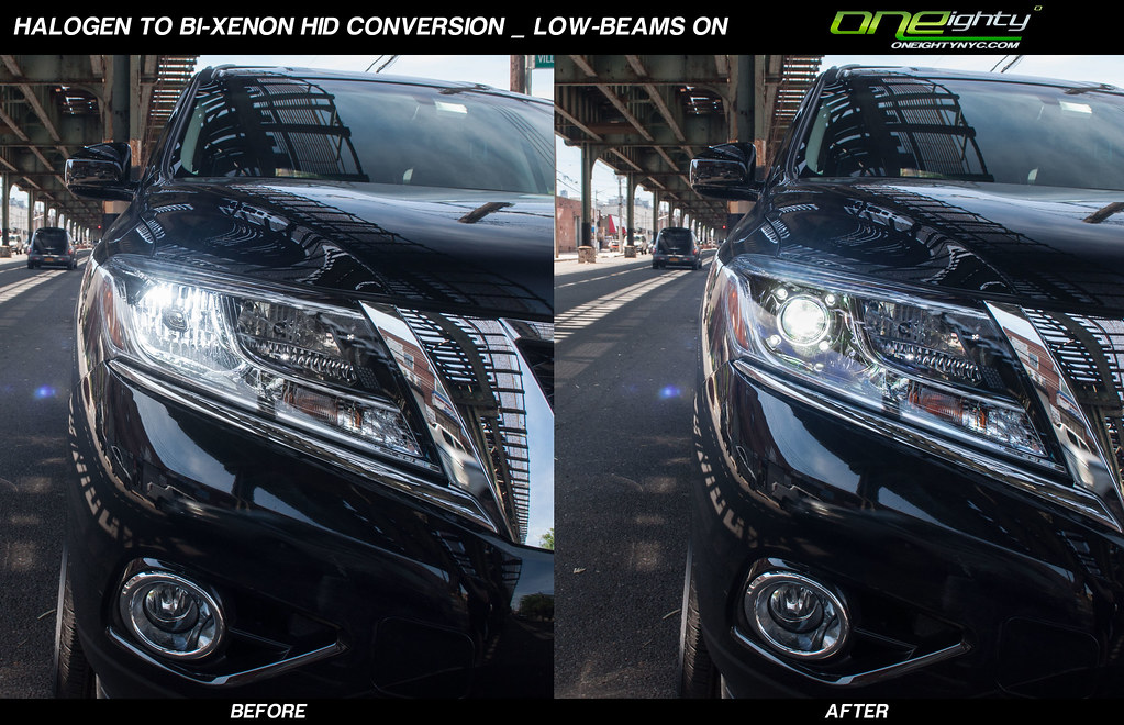 Oneighty Nyc 187 2014 Nissan Pathfinder Custom Headlights