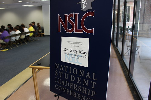 Guest Speaker: Dr. Gary May | NSLC at Georgia Tech