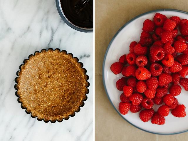 Crust + Raspberries