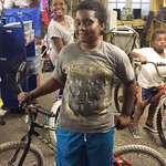 Kamarion and his bike