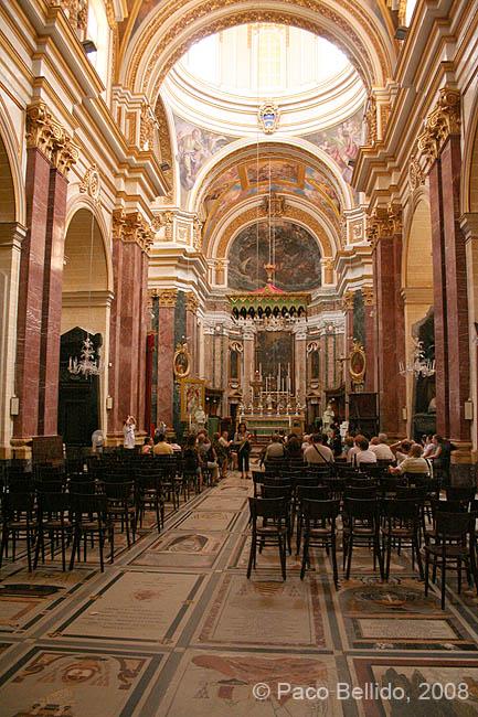 Interior de la Catedral de San Pawl. © Paco Bellido, 2008