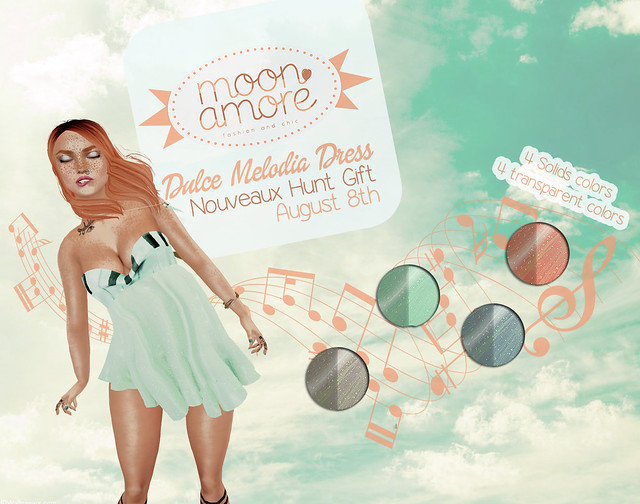Nouveaux Hunt :Moon Amore:Dulce Melodia (Colors Add)