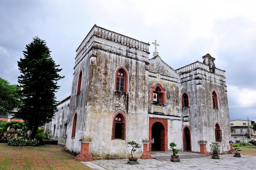 屏東萬巒【萬金聖母聖殿】台灣現存最古老的教堂@第三級古蹟