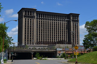 Detroit - Michigan Central from Vernor and Johnson - July 9, 2014