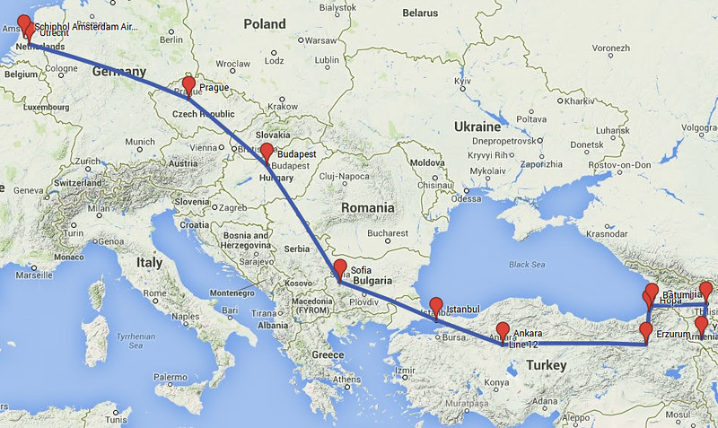 Daan reist naar de Kaukasus