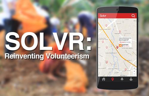 SOLVR – A Hyperlocal Volunteer Crowdsourcing App