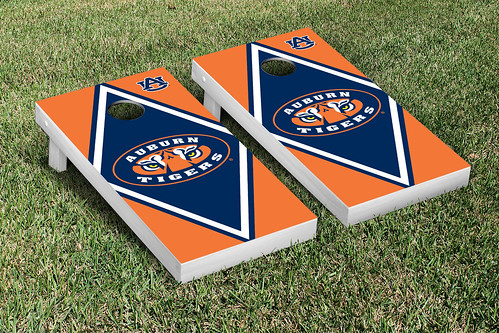 Auburn University Tigers Cornhole Game Set Diamond V2