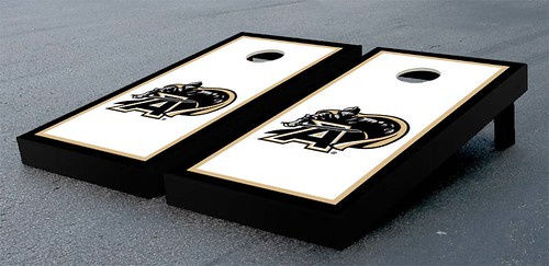 Army Black Knights Cornhole Game Set Border