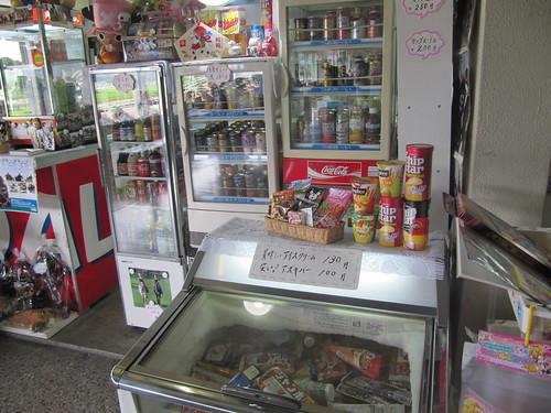 佐賀競馬場の売店の品揃え