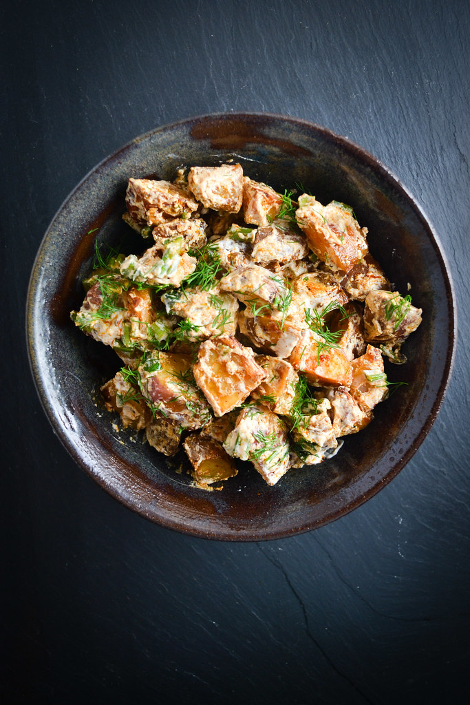 Paprika-Spiced Roasted Potato Salad | Things I Made Today