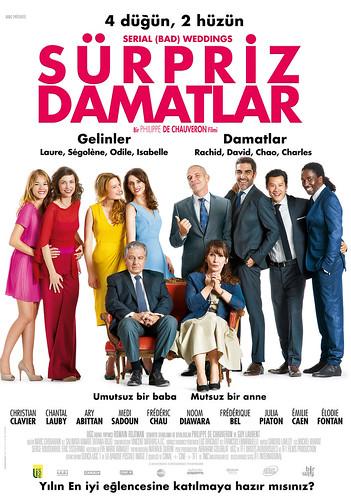 Sürpriz Damatlar - Qu'est-ce qu'on a Fait au Bon Dieu? - Serial (Bad) Weddings (2014)
