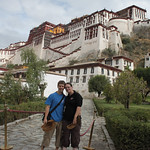 In the confines of the Potala Palace
