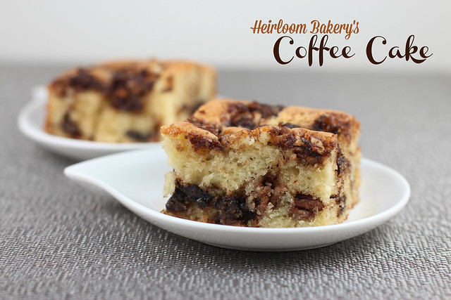 Heirloom Bakery's Sour Cream Coffee Cake