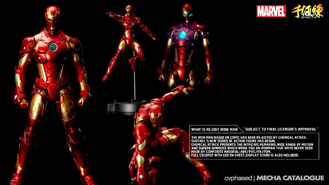 Sen-Ti-Nel RE:EDIT IRON MAN Bleeding Edge Armor