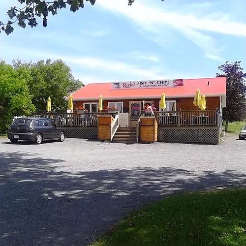 Rick's Fish and Chips, St. Peter's #princeedwardisland #pei #stpeters #ricksfishandchips #restaurants