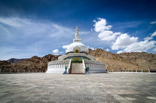 india architecture stupa buddhist buddhism roadtrip chorten leh ladakh peacepagoda incredibleindia tibetanarchitecture shantistupa changspa relicsofbuddha incredibleladakh incrediblehimalayas roadtriptoladakh builtforpeaceandharmony roadtripinhimalayas