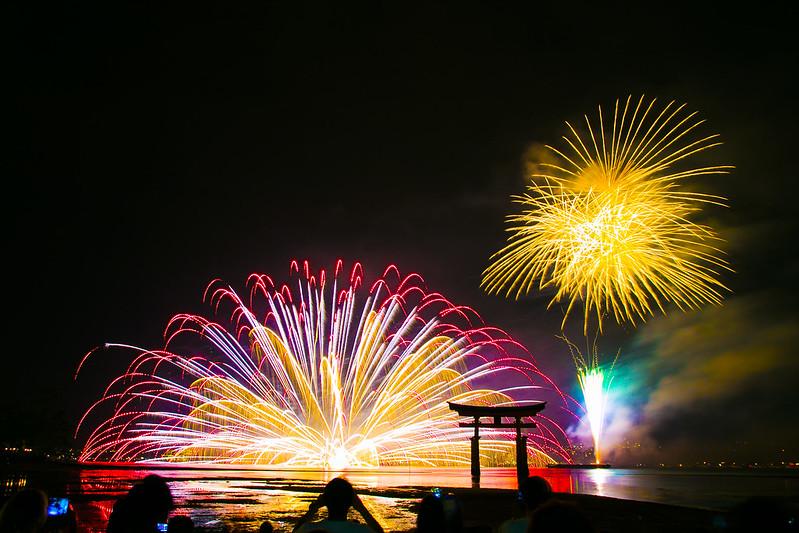 宮島水中花火大会2014(大鳥居前)197