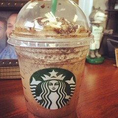 Surprise Starbucks deliveries are the best! Thank you SO much for bringing \'Bux into the office this morning Andrew Padilla!