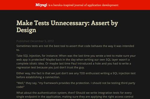 Miyagi Article