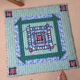 And happyhappy! A quilt of these is on my 'make it' list. Thank you, quiltjane!