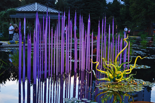 Chihuly 'Monet Pool Fiori'