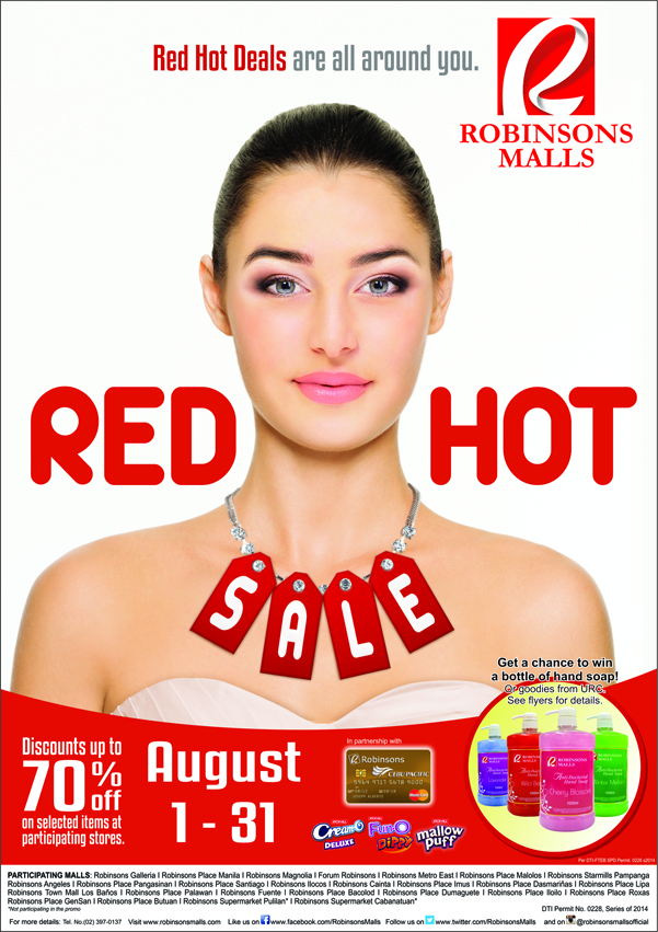 Red Hot Sale 2014 poster