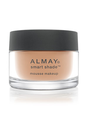 Almay-5-minute-face-smart-shade-mousse-makeup, almay smart shade, almay foundation