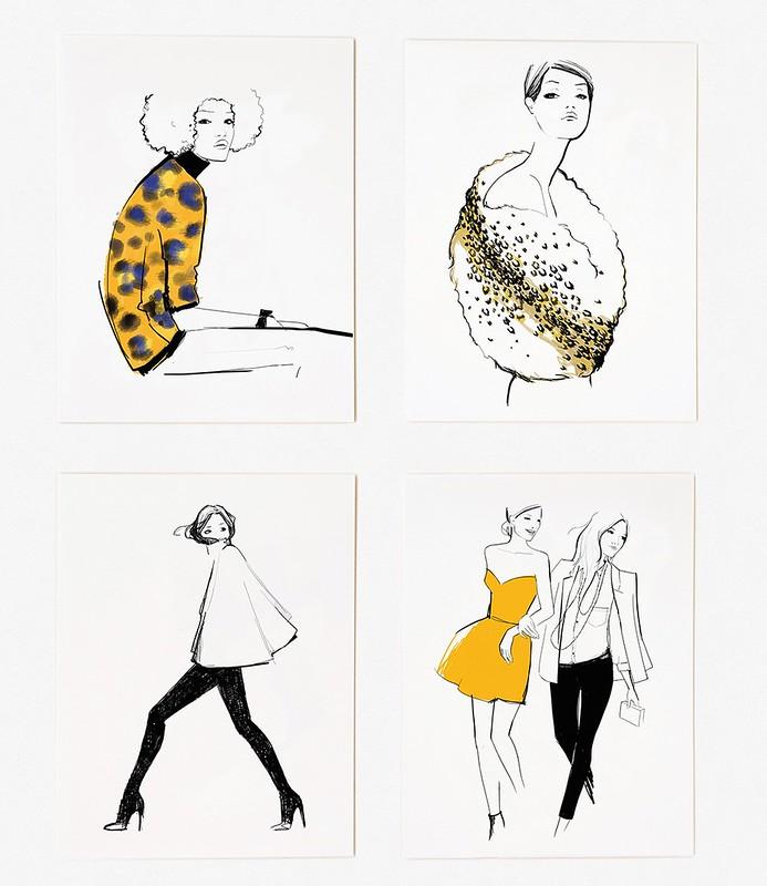 Product Photo - Garance Dore Assorted Girls Card Set