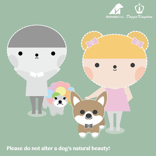 Do not alter a dog's natural beauty
