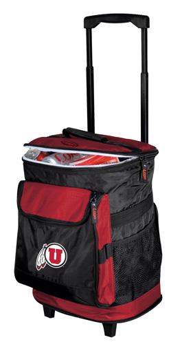 Utah Utes Rolling Cooler
