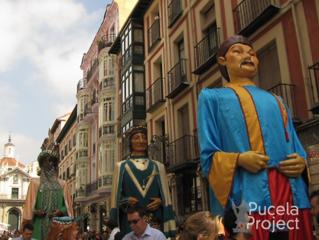 Paseillo gigantes Pucelaproject