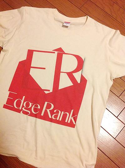 メルマガ「Edge Rank」のTシャツ