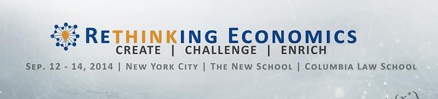 Rethinking Economics Conference Logo