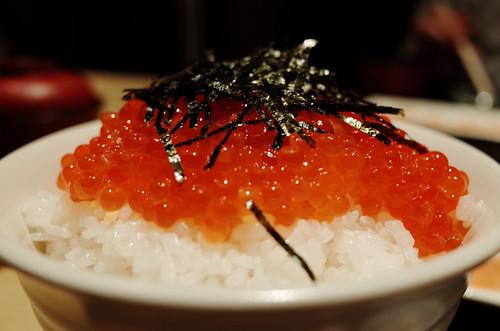Salmon roe bowl (Akihabara)