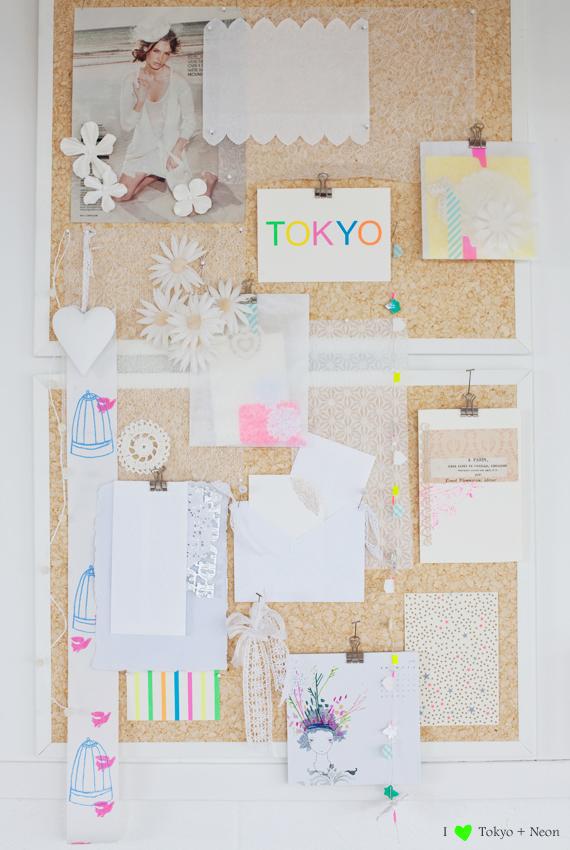 washi tape moodboard