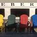 Weber's Muskoka chairs