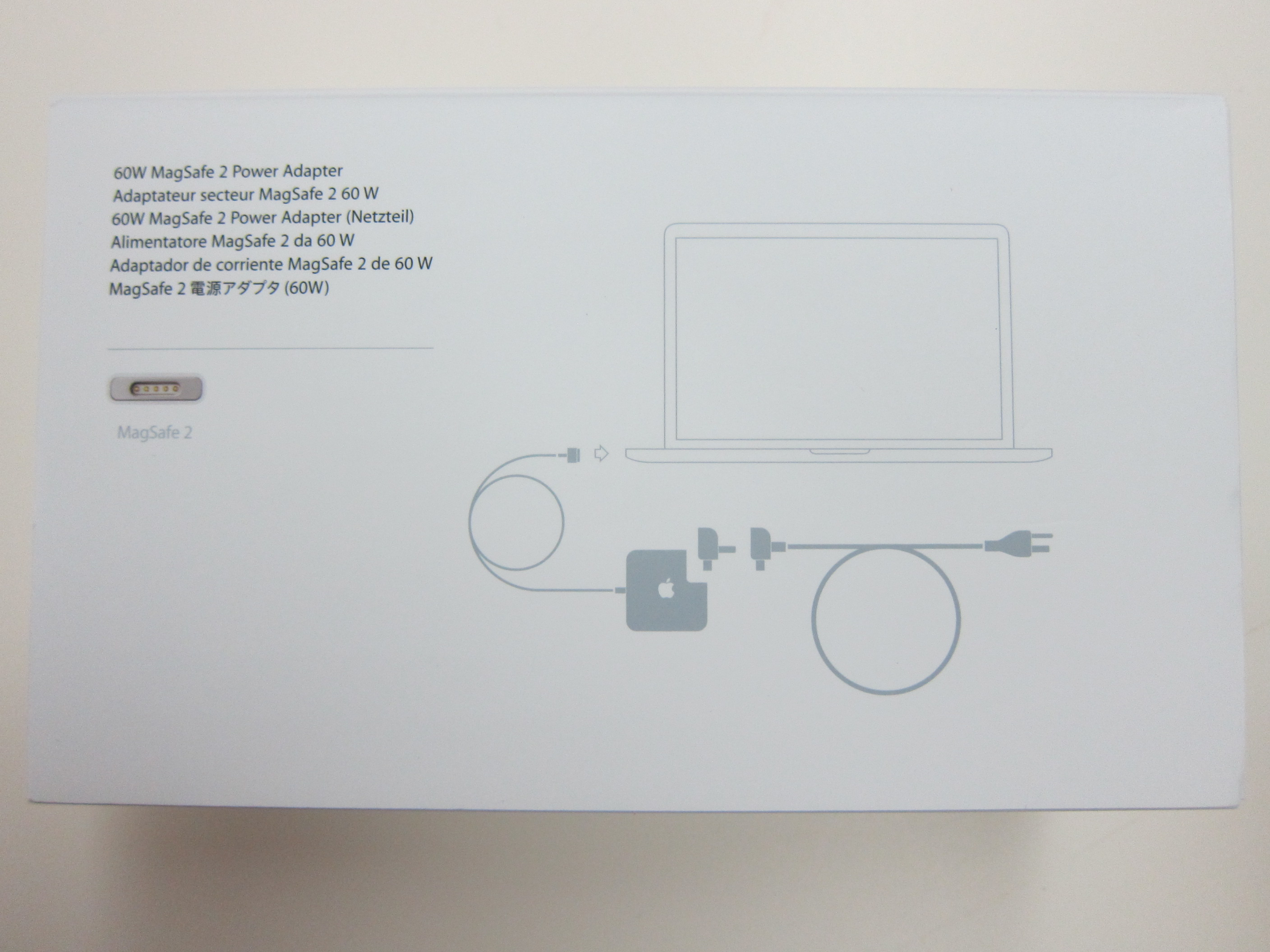New Apple 60w Magsafe 2 External Power Adapter Md565ll/a1435 With ...
