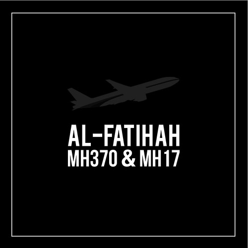 Pray for MH17 and MH370