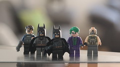 The Dark Knight Trilogy minifigs