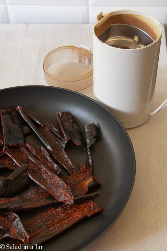 Spicy Cowboy Sparkle Dust: My Lazy-Day Secret--browning pepper pods