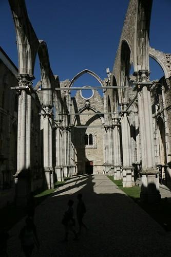 I resti della Chiesa do Carmo