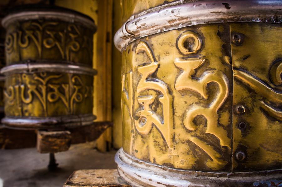Молитвенные колеса мани. Монастыри Ладакха (Монастыри малого Тибета) © Kartzon Dream - авторские путешествия, авторские туры в Ладакх, тревел фото, тревел видео, фототуры