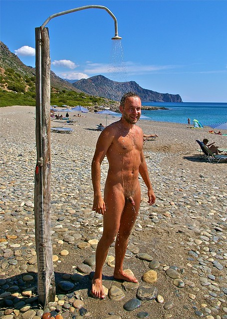 naturist 0001 Anidri beach, Crete, Greece